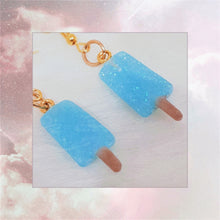 Load image into Gallery viewer, Sea Salt Ice Cream Earring