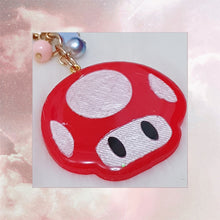 Load image into Gallery viewer, Super Mario Mushroom Charm