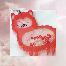 Load image into Gallery viewer, Alpaca Liquid Shaker Charm