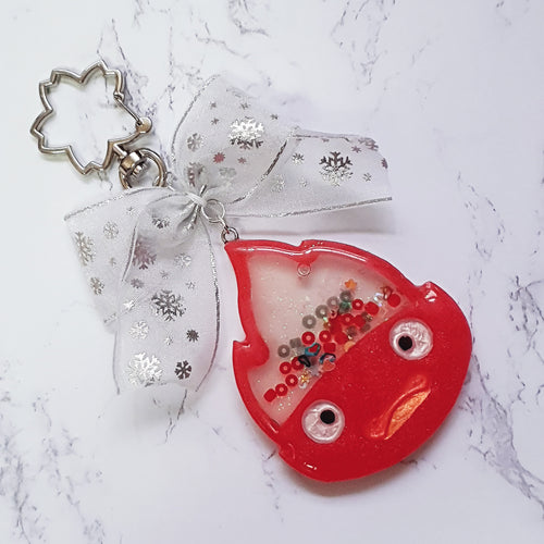 Calcifer Liquid Shaker Charm