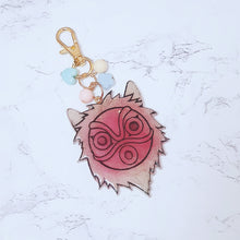 Load image into Gallery viewer, Princess Mononoke Charm