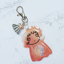 Load image into Gallery viewer, Ponyo Liquid Shaker Charm
