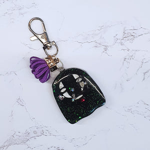 No Face Grippy Liquid Shaker Charm