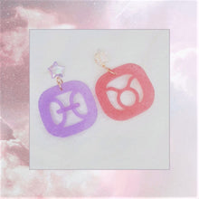 Load image into Gallery viewer, Horoscope Earrings