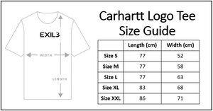Carhartt Logo Tee - Heather Gray