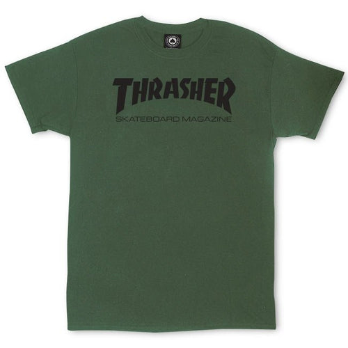 Thrasher Magazine Tee - Army