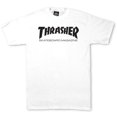 Thrasher Magazine Tee - White