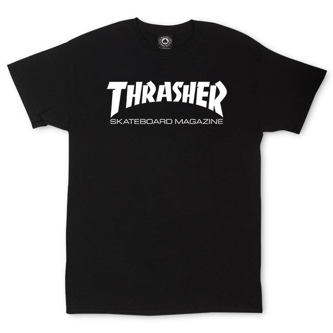 Thrasher Magazine Tee - Black