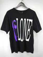 Vlone x Palm Angels Staple Tee (Black/Purple)