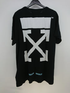Off White Caravaggio Tee - Black/Pink