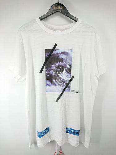 Off White Wave Tee - White