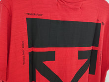 Off White Mona Lisa Oversize Tee - Red