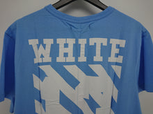 Off White 14FW Caravaggio Tee - Blue