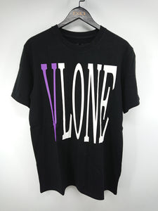 Vlone Staple Tee (Black/Purple)