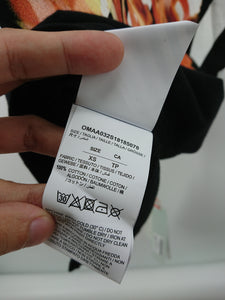 Off White Spliced Fire Tee