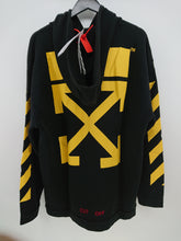 Off White Annunciation Terry Hoodie - Black