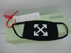 Off White Arrow Mask - Black