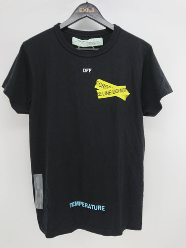Off White Firetapes Tee - Black