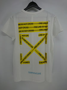 Off White Firetapes Tee - White