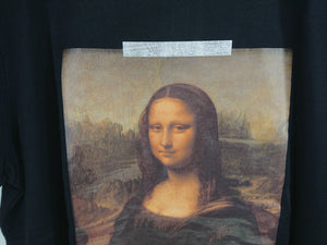 Off White Mona Lisa Oversize Tee - Black