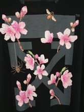 Off White Cherry Blossom Tee