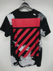 Off White Liquid Spots Tee
