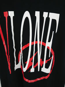 Vlone x Fragment Staple Tee - Black (Reversible)
