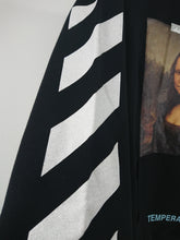 Off White Mona Lisa Pullover Hoodie - Black