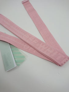 Off White Pink Industrial Belt