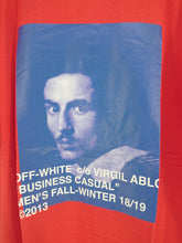Off White Bernini Oversized Tee - Red