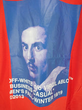 Off White Bernini Red Spliced Tee