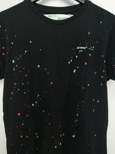 Off White SS19 Splatted Paint Tee