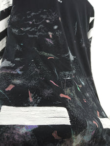 Off White Galaxy Long Sleeve Tee