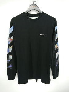 Off White Colored Arrow Long Sleeve Tee