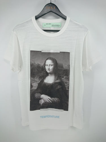Off White Mona Lisa Oversized Tee - White