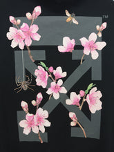 Off White Cherry Blossom Pullover Hoodie