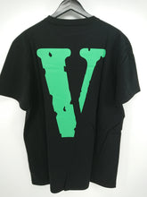 Vlone Friends Tee (Black/Green)