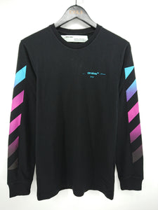 Off White Gradient Arrow LS Tee