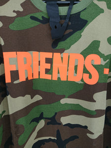Vlone Friends Tee (Camo/Orange)