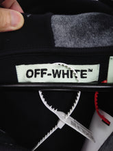 Off White Liquid Spot Zipped Hoodie