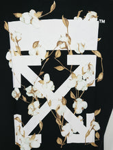 Off White SS19 Floral Tee - Black