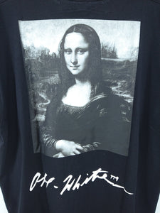 Off White SS19 Mona Lisa Oversized Tee - Black