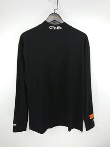 Heron Preston CTNNB Embroidered Mock Neck Tee