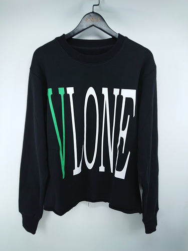 Vlone Staple Pullover (Black/Green)