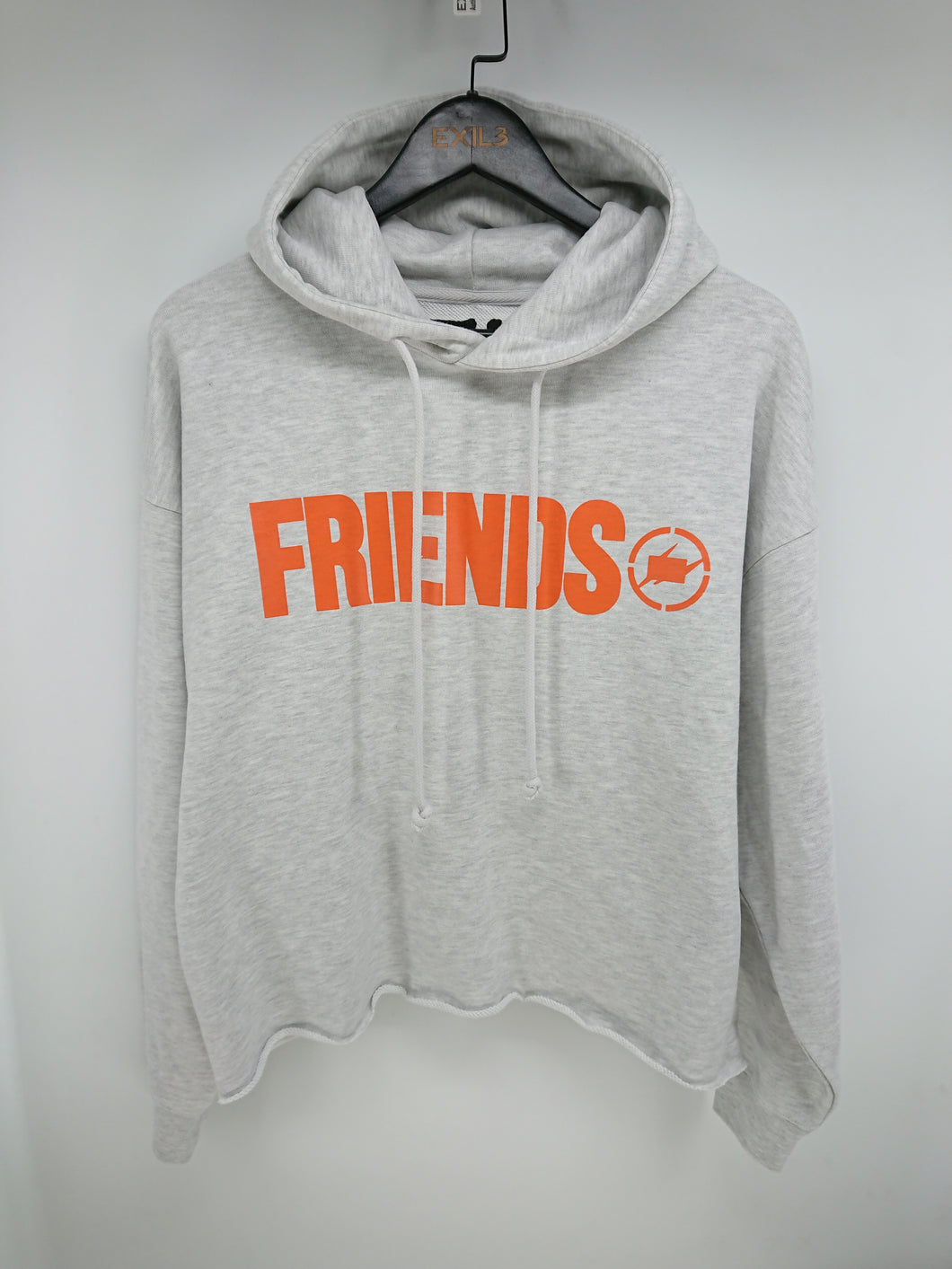 Vlone x Fragment Friends Hoodie (Grey/Orange)
