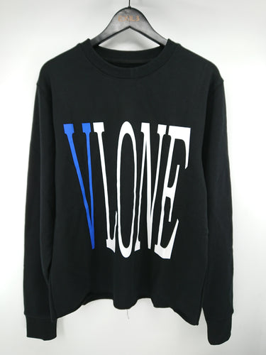 Vlone Staple Pullover (Black,Blue)