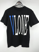 Vlone Staple Tee (Black/Blue)