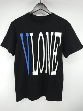 Vlone Staple Tee (Black,Blue)