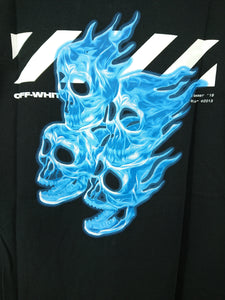 Off White Diagonal Skull Tee