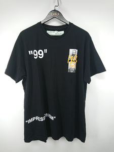 Off White SS19 Summer Tee - Black